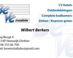 BeVeInstallatie Wilbert Berkers