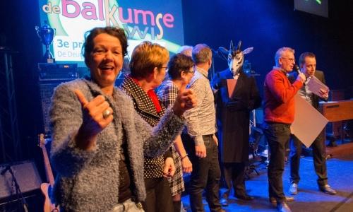 3e prijs Balkumse Kwis 2016_De Deurdenkers